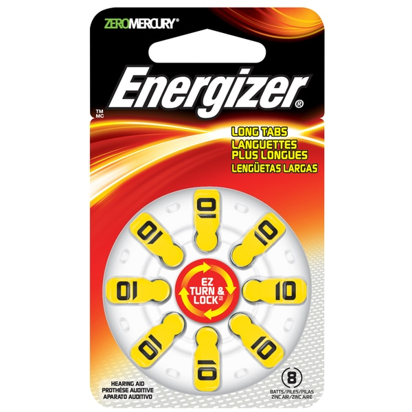 Energizer AZ10DP Coin Cell Hearing Aid Battery