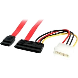 StarTech.com 6in SATA Serial ATA Data and Power Combo Cable