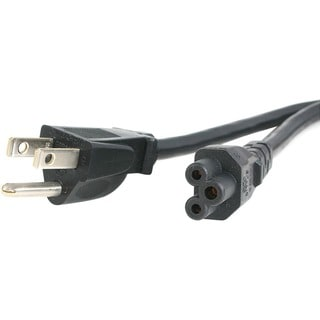 StarTech.com 6 ft Standard Laptop Power Cord - NEMA 5-15P to C5