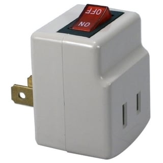 QVS Single-Port Power Adaptor with On/Off Switch