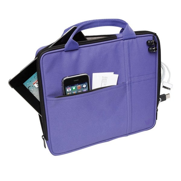 V7 Slim TA20PUR Carrying Case (Attach for iPad - Purple