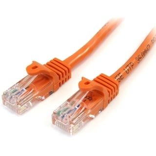 StarTech.com 15 ft Orange Snagless Cat5e UTP Patch Cable