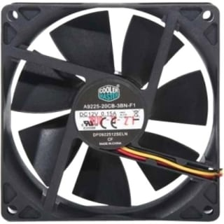 Cooler Master Sleeve Bearing 92mm Silent Fan for Computer Cases and C