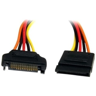 StarTech.com 12in 15 Pin SATA Power Extension Cable