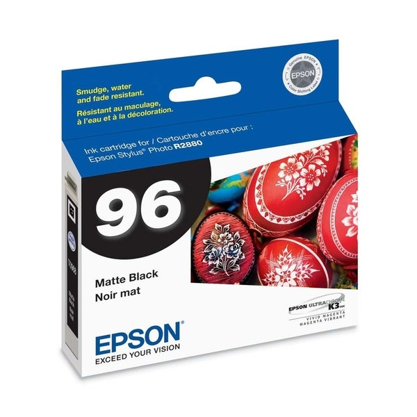 Epson No. 96 Matte Black Ink Cartridge