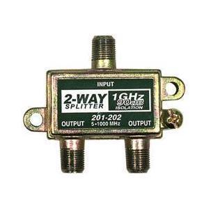 Steren 2-Way F-Splitter