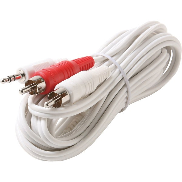Steren 3.5mm to RCA Y iPod Cable