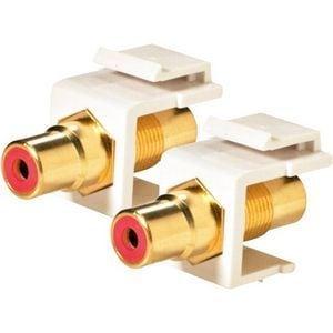 Steren RCA Keystone Modular Gold Insert