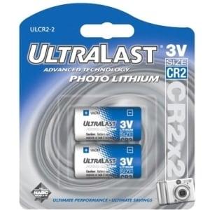 NABC UltraLast ULCR2-2 Lithium Photo Camera Battery