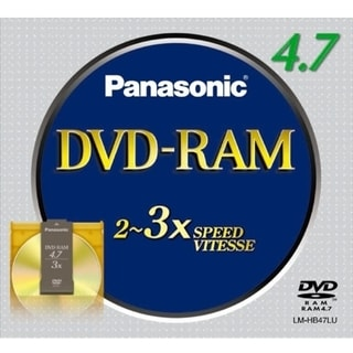 Panasonic 3x DVD-RAM Media