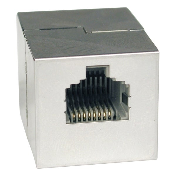 Tripp Lite Cat5e Straight Through Modular Shielded In-line Coupler