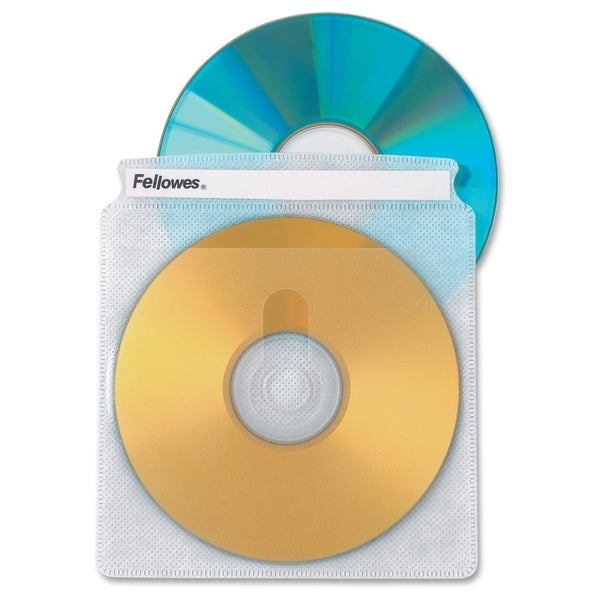 Fellowes CD/DVD Sleeves - 25 pack