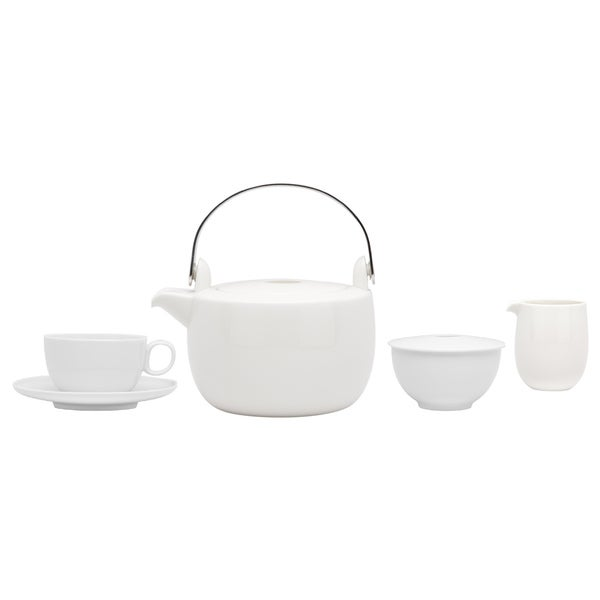 Red Vanilla Everytime White 15-piece Breakfast Set