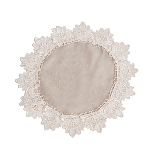 Lace Trimmed Doilies (Set of 12)