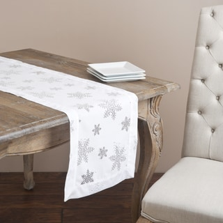 Burnout Snowflake Design Runner