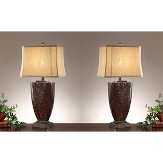 Del Carmen 35-inch Table Lamps (Set of 2)