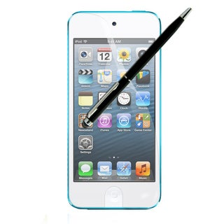 Apple iPod Touch 5 Anti-fingerprint Screen Protectors/ One Dual-purpose Stylus Pen