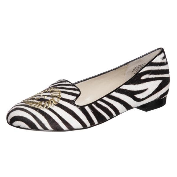 Anne Klein Women's 'Century' Zebra Flats