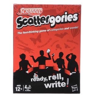 Hasbro Scattergories Game Set