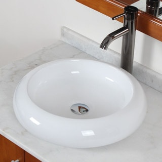 Elite Luxury Grade A Ceramic White Bathroom Vessel Sink