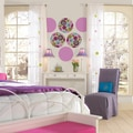 Wall Pops Purple Plush and Twister Dot Wall Decals