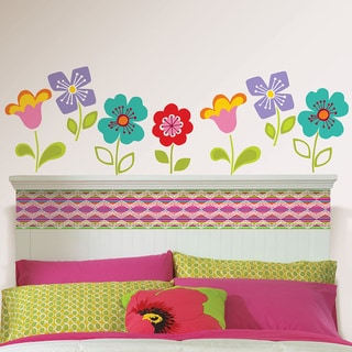 Wall Pops Petals Blox and Stripe Wall Decals