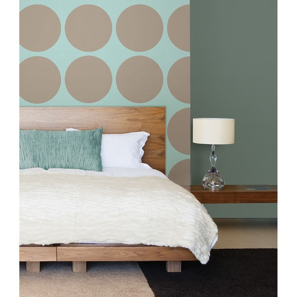 Wall Pops Pebble Taupe Decals