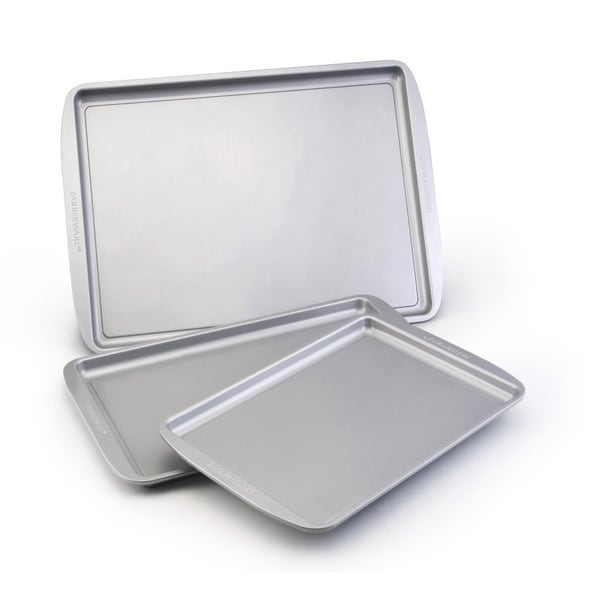 Farberware Bakeware 3-piece Cookie Pan Set