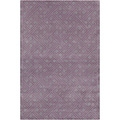 Filament Grey Geometric Wool Rug (5' x 7'6)