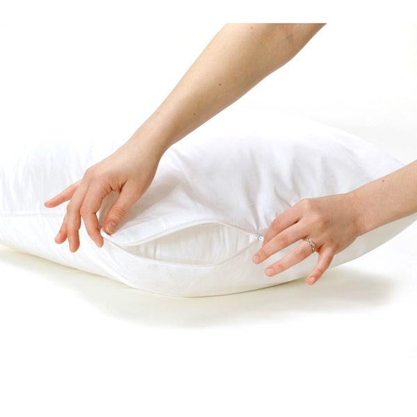 Bed Bug and Dust Mite Proof Pillow Protector Cover (Set of 4)