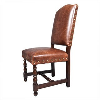Carmel Leather Dining Chairs (Set of 2)