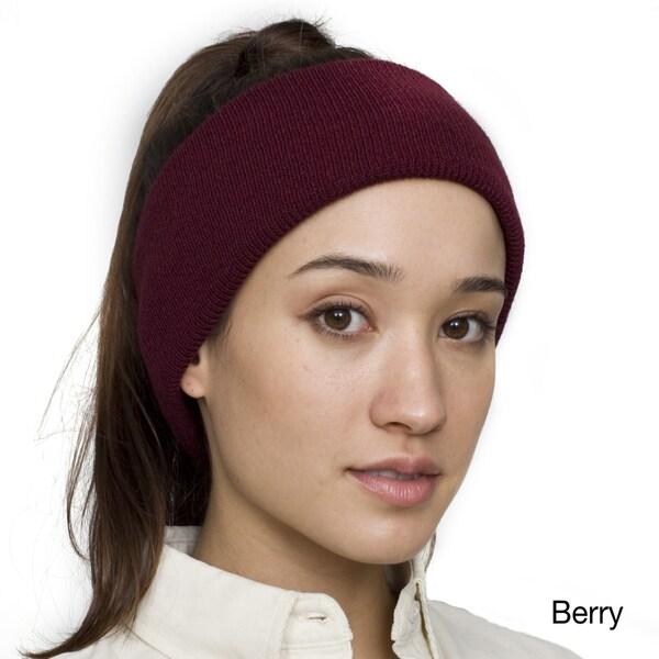 American Apparel Women's Knit Stretch Headband