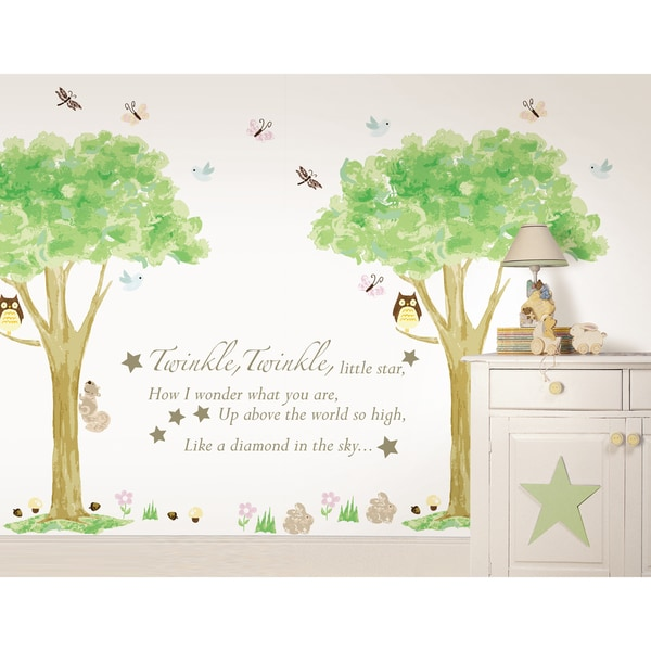 WallPops Twinkle, Twinkle and Treehouse Kit Bundle Vinyl Wall Art