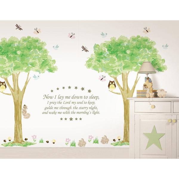 WallPops Now I lay me Down and Treehouse Kit Bundle Vinyl Wall Art