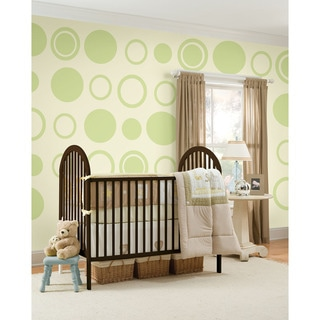 WallPops Peapod Dot/ Concentric Dot Bundle Vinyl Wall Art