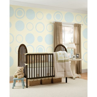 WallPops Baby Blue Dot/ Concentric Dot Bundle Vinyl Wall Art