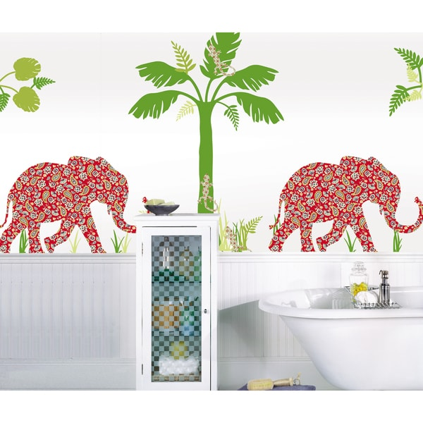 WallPops Mabuza the Elephant Scene Pack