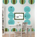 WallPops Blue/ Green Loopy 15-piece Wall Dot Set