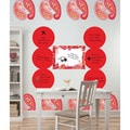 Wall Pops Red/ Pink Paisley 23-piece Dot Set