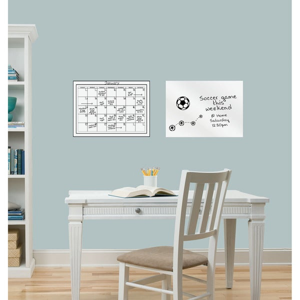 WallPops Dry Erase Calendar and Message Board Combo