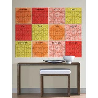 WallPops Carnivale Dry Erase 12-piece Calendar Set