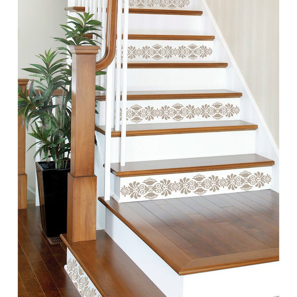 WallPops Kolkata Stripe Stairs Decal Pack