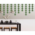 WallPops Loopy Green Stripe Decal Pack