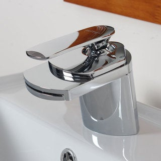 ELITE Single Handle Chrome Bathroom Sink Faucet