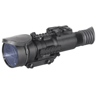 Armasight Nemesis4x-ID Night Vision Rifle Scope 4x Improved Definition Generation 2+, 45-64 lp/mm