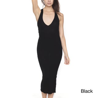 American Apparel Cross Back Knit Dress