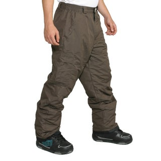 Pulse Men's Chocolate Ski Snowboard Pants