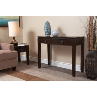 Essex Coffee Brown Console Sofa Table