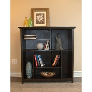 Halifax Dark American Brown Crazy Cube Bookcase & Storage Unit