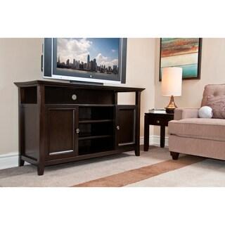 Halifax Dark American Brown TV Media Stand